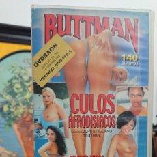 Peliculas: BUTTMAN CULOS AFRODISIACOS - VHS - JOHN STAGLIANO - NACHO VIDAL , MAYARA RODRIGUES - IFG. Lote 293799793