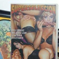 Peliculas: HEMBRAS CON LENCERIA SEXY - VHS - SUPERSELECCION. Lote 293802163