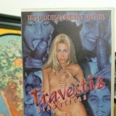 Peliculas: TRAVESTIS DIABOLICAS - VHS - MAURICIO - GISELE , ALESSANDRA CUIABA - INTERNATIONAL. Lote 293804528