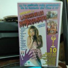 Peliculas: LA NOCHE DE LOS ZOMBIES CALIENTES - VHS - SHANNA MCCULLOUGH , STEPHANIE SWIFT - ELEPHANT 2000 + DVD. Lote 293804838