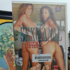 Peliculas: SEXO ANAL CON BRUCE SEVEN - VHS - MISTY RAIN , TOM BYRON - INTERNATIONAL. Lote 293807283