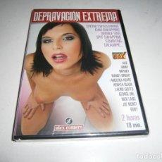 Peliculas: PACK 16 CINE ADULTO DVD DEPRAVACION EXTREMA NUEVO PRECINTADO. Lote 294030508
