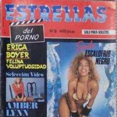Revistas: REVISTA ESTRELLAS DEL PORNO Nº 6. Lote 4706461