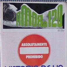 Revistas: REVISTA AMOR A 120 (ERÓTICA). Lote 4486851