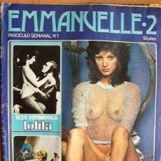 Revistas: EMMANUELLE 2 Nº 1 - AÑOS 70 - PUBLICACIÓN ERÓTICA DE HUMOR. Lote 17196519