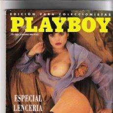 Revistas: REVISTA PLAYBOY, EDICION PARA COLECCIONISTA, ESPECIAL LENCERIA, AÑO 1994. Lote 27169955