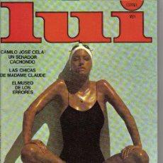 Revistas: REVISTA LUI MEN - 8 - AGOSTO. Lote 26933421