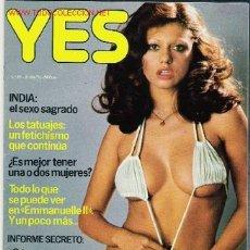 Revistas: REVISTA YES AÑO 1977. Lote 23751025