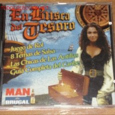 Revistas: CD-ROM EN BUSCA DEL TESORO (REVISTA MAN). JUEGO DE ROL, 8 TEMAS DE MUSICA SALSA, FOTOS DE CHICAS,ETC. Lote 3027165