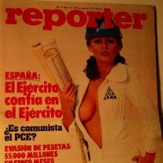 Revistas: REVISTA REPORTER Nº 1 - AÑO 1977 . Lote 27429391