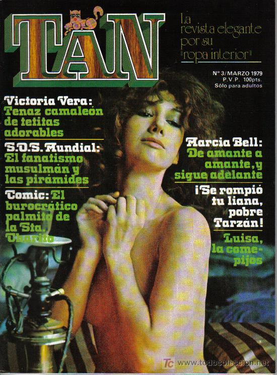 REVISTA TAN - Nº 3 - AÑO 1979 - EN PORTADA VICTORIA VERA (Coleccionismo para Adultos - Revistas)