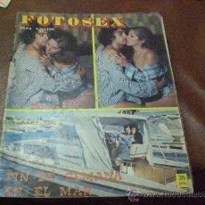 Revistas: FOTOSEX FOTONOVELA EROTICA FINALES DE LOS AÑOS 70 X PORNO. Lote 214278665