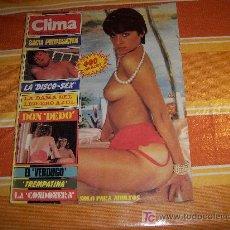 Revistas: CLIMA SOLO PARA ADULTOS Nº 282, LA DISCO SEX - LA DAMA DEL LIGUERO AZUL. Lote 18730031