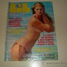 Revistas: LIB Nº 47 1977....FOTOS DE ROCIO DURCAL Y BARBARA REY EMMANUELLE A LA ESPAÑOLA. Lote 26914214