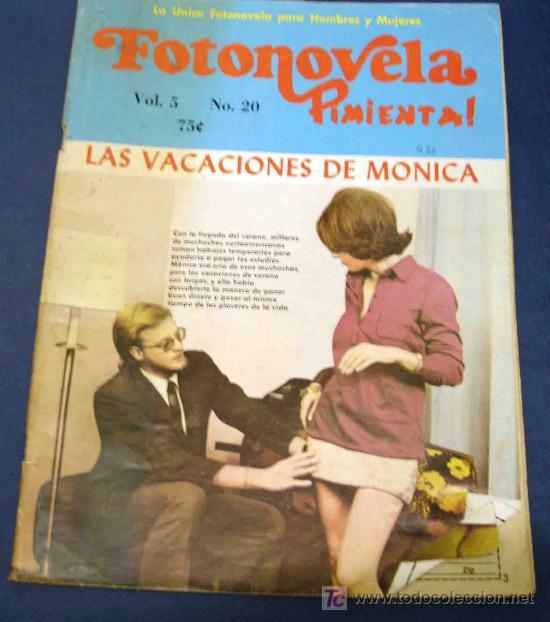 FOTONOVELA PIMIENTA. FOTONOVELA EROTICA PARA HOMBRES Y MUJERES (Coleccionismo para Adultos - Revistas)
