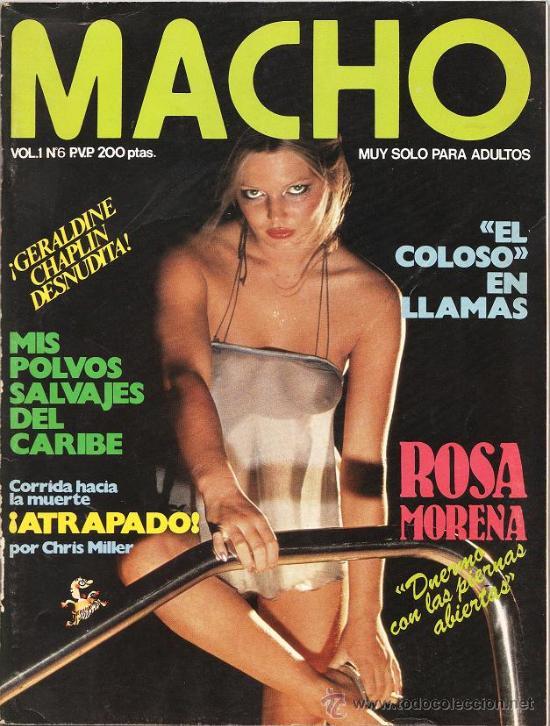 Revista Macho Vol 1 Nº 6 Desnudo De Geral Sold Through Direct