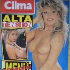 Revistas: REVISTA CLIMA NUMERO 723 PRECIO 195 PESETAS VER FOTO ES LA MISMA. Lote 28007250