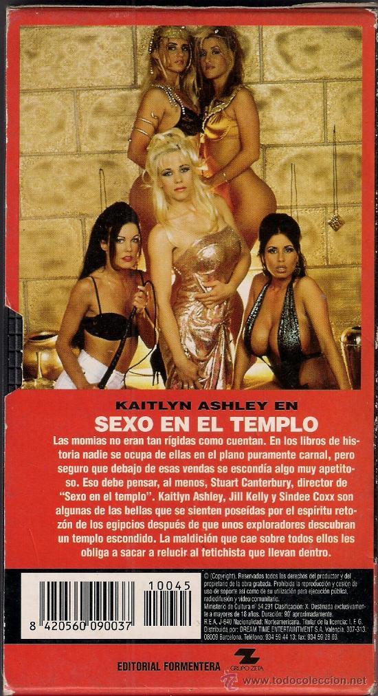 Revistas: Video VHS Sexo en el Templo. Nº 45 Colecciónes PL de la Revista Primera Linea - Foto 2 - 29039018