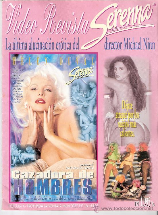 VIDEO REVISTA. SERENNA SEX. CAZADORA DE HOMBRES. MICHAEL NINN. PORNO. SOLO REVISTA. (Coleccionismo para Adultos - Revistas)