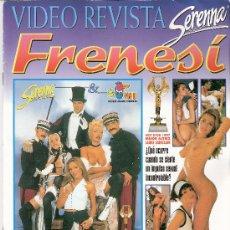 Revistas: VIDEO REVISTA. SERENNA SEX. FRENESÍ. LAURE SAINCLAIR. PORNO. SOLO REVISTA.. Lote 29332925