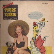 Revistas: REVISTA EROTICA-POBRE DIABLO NUM.391-JUNIO 1953-. Lote 29423545