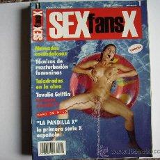 Revistas: REVISTA SEX FANS X Nº1. Lote 29601893