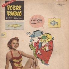 Revistas: REVISTA EROTICA-POBRE DIABLO NUM.391-JUNIO 1953-. Lote 29826065
