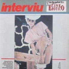 Revistas: LOS SECRETOS DEL CINE ERÓTICO - INTERVIÚ - FASCÍCULO 3 -EL ARTE DE DESNUDARSE - RAQUEL WELCH. Lote 30301798