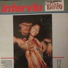 Revistas: LOS SECRETOS DEL CINE ERÓTICO - INTERVIÚ - FASCÍCULO 12 - BÉSAME, MONSTRUO. Lote 30337766