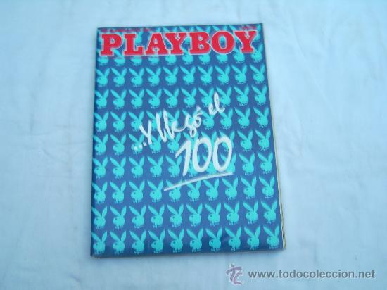 PLAYBOY Nº 100. MARINA BAKER, STEPHANIE BEACHAM, BRIGITTE NIELSEN, UNA ESTATUA EN LIBERTAD (Coleccionismo para Adultos - Revistas)