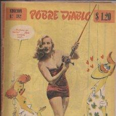 Revistas: REVISTA EROTICA-POBRE DIABLO-NUM. 382-1953. Lote 32625219