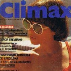 Revistas: REVISTA CLIMAX - Nº 3 - AÑO I - MARZO 1977 - BÁRBARA REY - VICTORIA VERA - AGATHA LIS. Lote 33010573