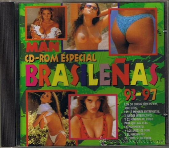 CD ROM PARA PC - ESPECIAL BRASILEÑAS 93-97 - DE LA REVISTA MAN - FOTO ADICIONAL (Coleccionismo para Adultos - Revistas)