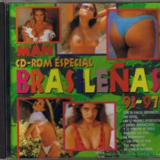 Revistas: CD ROM PARA PC - ESPECIAL BRASILEÑAS 93-97 - DE LA REVISTA MAN - FOTO ADICIONAL. Lote 34218239
