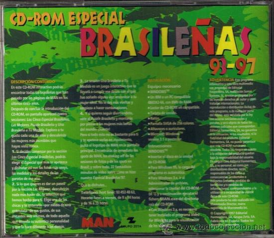 Revistas: CD ROM PARA PC - ESPECIAL BRASILEÑAS 93-97 - DE LA REVISTA MAN - FOTO ADICIONAL - Foto 2 - 34218239