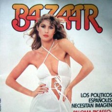 Revistas: REVISTA BAZAAR Nº 4 / 1977 PALOMA PICASSO, LAS CHICAS DE MADAME CLAUDE, KENNEDY, JUAN MARSE Y MÁS.... Lote 34751520