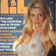 REVISTA LIB 133 / EVA LEON, BRIGITTE BARDOT, ROSA VALENTY, LORETA TOVAR, AZUCENA HERNANDEZ,