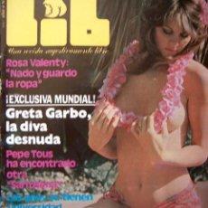 Revistas: REVISTA LIB 149 / ROSA VALENTY, GRETA GARBO, ROSA FUMETTO, LORIS DIAMAR, MENORCA. Lote 34982769