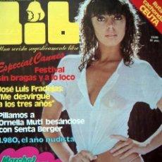 Revistas: REVISTA LIB Nº 189 / CANNES 1980, SENTA BERGER, ORNELLA MUTI, ANNY FONDA, CEUTA. Lote 35171638