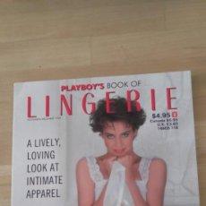 Revistas: PLAYBOY BOOK OF LINGERIE NOV DIC 1988 AMERICANO. Lote 36900450