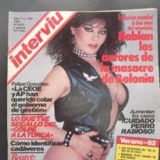 Revistas: REVISTA INTERVIU N 324 AÑO 1982. Lote 37151666
