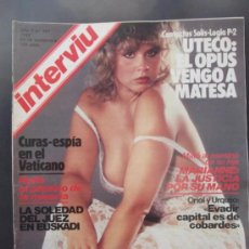 Revistas: REVISTA INTERVIU N 341 AÑO 1982. Lote 37153678