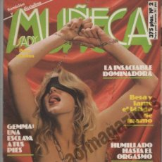 Revistas: MUÑECA SADY Nº 2 / 90'S ~ SADOMASOQUISMO ~ SUMISION Y DISCIPLINA ~. Lote 37425331