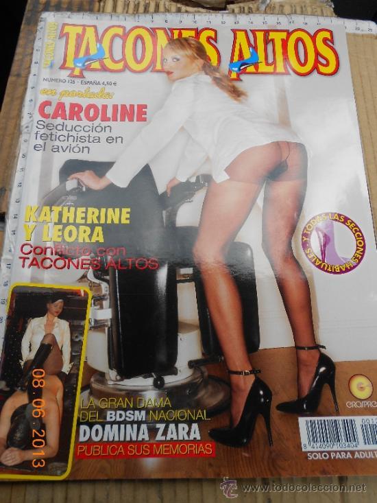 Erotica Revista Altos Zara 126 Revistas Tacones Domina Comprar fTHq7zT