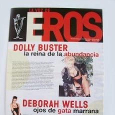 Revistas: LA VOZ DE EROS – FESTIVAL DE CINE ERÓTICO DE BARCELONA 1998 ( FICEB ). Lote 38220425