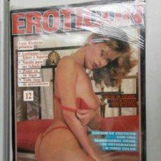 Revistas: REVISTA PARA ADULTOS EROTICON -Nº-12-POR-209,7. Lote 178090128
