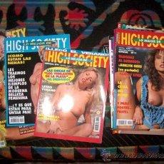 Revistas: LOTE 36 REVISTAS EROTICAS LO MEJOR DE HIGH SOCIETY/ FAMOSAS DESNUDAS,ACTRICES .... Lote 38812605