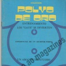 Revistas: COLECCION POLVO DE ORO Nº 3 ~ LOS GAYS SE DIVIERTEN Y 3 HISTORIAS MÁS. Lote 38977493