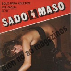 Revistas: SADO MASO Nº 10 ~ SADOMASOQUISMO. Lote 39032735