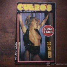 Revistas: REVISTA CUEROS Nº 8, 1989. Lote 39641787